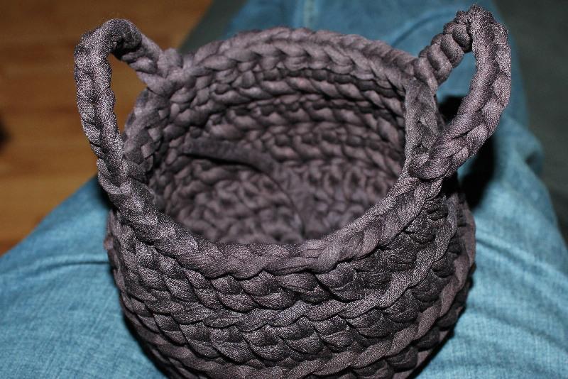 Mandje Haken Van Textielkoord Creatiefsnl