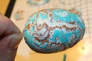 FIMO mokume eieren