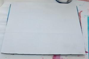 Gelli plate enveloppen