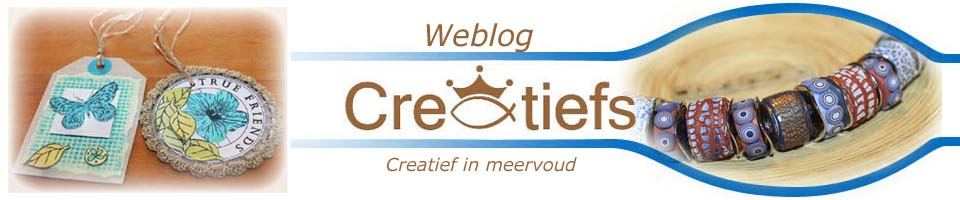Creatiefs.nl - Alles over FIMO, sieraden en kralen, wenskaarten, schilderen, handwerken en nog heel veel meer. Kortom veel Creatiefs !